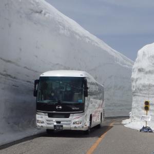 中部・北陸~残雪期の立山黒部アルペンルート・雪の大谷を歩く(上)