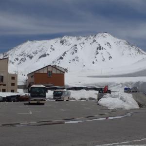 中部・北陸~残雪期の立山黒部アルペンルート・全行程スケッチ(下)