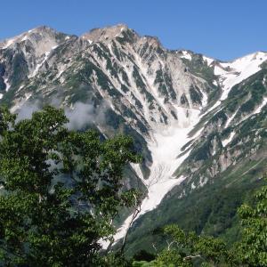 白馬岳~①白馬大雪渓ルートを7月に登ってライチョウと高山植物を楽しんだ