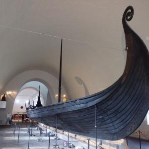 北欧~海賊のヴァイキング船をオスロで見た(ノルウェー)