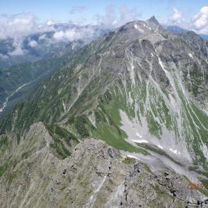 山に想う~夏の涸沢・北穂高岳~②スーツで登山! 目的いろいろ
