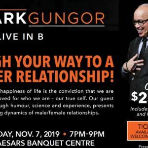*コメディ•ナイト Mark Gungor in Toronto.