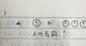 4月21日の夢 「名前」「式場」「5センチの犬」「女性作家」「雲」