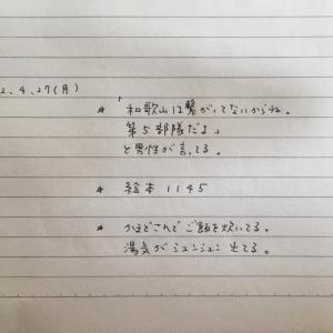 4月27日の夢 「和歌山・第5部隊」「絵本1145」「かまどさん」