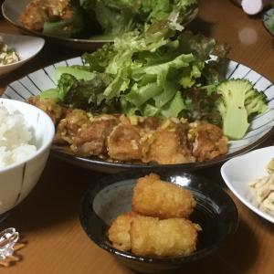 「嫁ごはん」Part.34(鶏の油淋鶏)