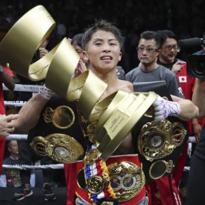 ボクシング、井上尚哉勝利「これがボクシング」。