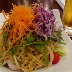 札幌市 ビッグジョッキ / 元祖ラーメンサラダは舌に合わなかった