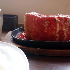 北海道 砂川市 cafe&cake 笑飛巣 / デカ盛りポークチャップ