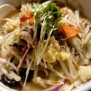 札幌市 札幌タンメン MEN-EIJI 鶏白湯 / テレビ塔に人気店eijiのタンメン