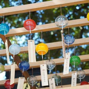 【埼玉の夏】川越氷川神社の縁結び風鈴を見てきました