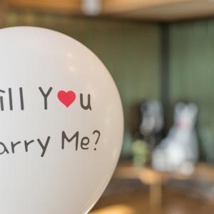 プロポーズの思い出