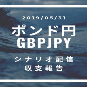2019/05/31 ポンド円シナリオ&トレード記録&収支報告【FX】