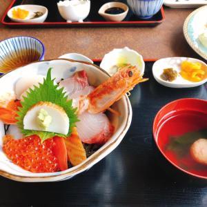 雨の日のお出かけ〜海鮮丼〜