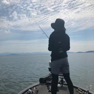 琵琶湖で初体験