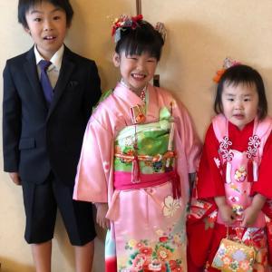 1年前の子供たち