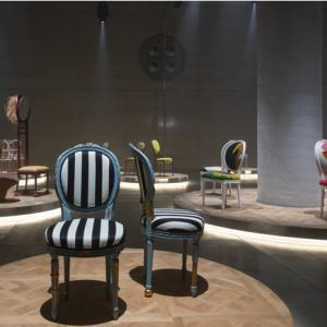 椅子を再考。ディオールのプロジェクトで、