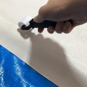 襖の貼り替えに挑戦!壁紙を上から貼ってみた。