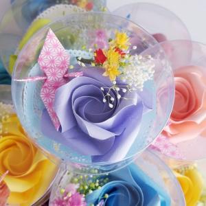 【折り紙】バラ折り 患者様への「お誕生会プレゼント」を受注!