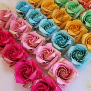 恵比寿で開催<1 day体験講座>【折り紙】折るごとに心が整う バラ折り教室