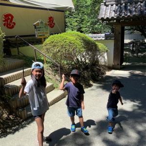 夏休み旅行 三重県の旅2日目は忍びます