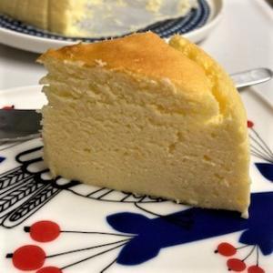 2回目のチーズスフレ作り。見た目はいまいちだけど味は成功!