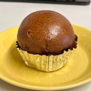 マフィン型を使ってかわいいチョコチップパン作り