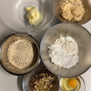 栗原はるみさんレシピで作ったサクサクのオートミールクッキー