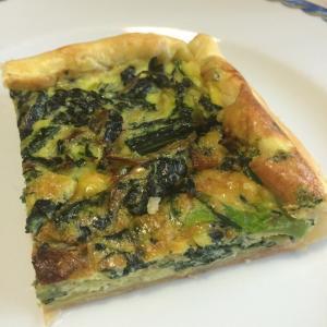 カーボロネロのキッシュ Torta salata con cavolo nero