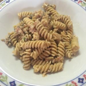 ポルチーニとベーコンのクリームパスタ Pasta ai funghi porcini e pan