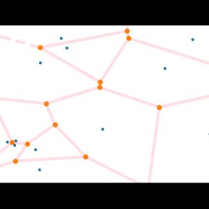 [SciPy] 10. voronoi_plot_2dによるボロノイ図の作成