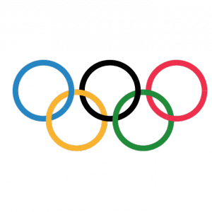 [matplotlib] 105. オリンピックシンボル