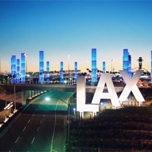 <ロサンゼルス空港(LAX)>出国審査は無い♪ だけど…!?