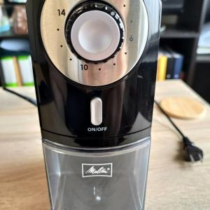 【メリタ】フラット カッター ディスク グラインダー(ECG71-1B)をレビュー【電動コーヒーミル】