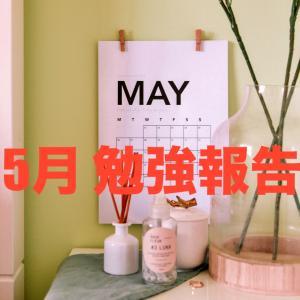 勉強スタイルの確立【5月勉強報告】