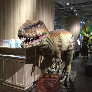 恐竜スポット★きょうりゅうカフェ 北九州リバチカ