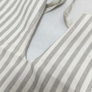 襟開きを縫う