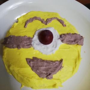 作ってみたよ!キャラクターケーキ