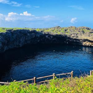 通り池 宮古島・下地島の絶景といえばここ