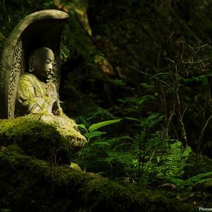 矢祭町・夢想の滝手前