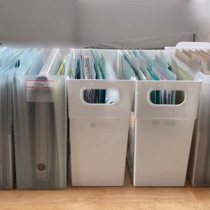 【書類整理サポート実例】NO.8◆3年間手をつけられなかった書類整理ができた