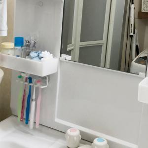 【整理収納】小さい子供の「洗面所の届かない!」を無印良品小物で解消