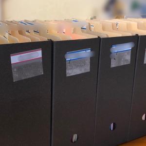 【書類整理サポート実例】NO.1◇毎月入ってくる書類の住所を決める