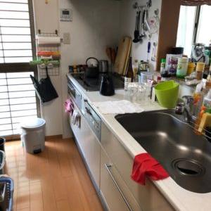 【お片付け実例】一戸建て住宅のキッチン