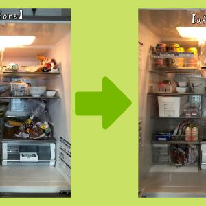 【お片付け実例】冷蔵庫◆野菜が見やすくなって嬉しいです!