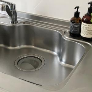 【キッチン】便利グッズ賢く使い、キッチンのシンク内をシンプル化して掃除をしやすく!