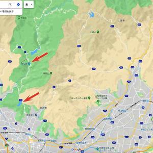 昇仙峡の紅葉散歩