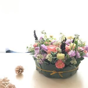 パステルカラー♡お誕生日のお花