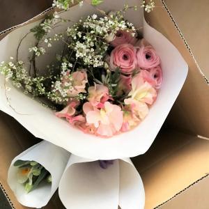 仕入れから1~2日でお届け~新鮮な春の花♡おうち花お届しました