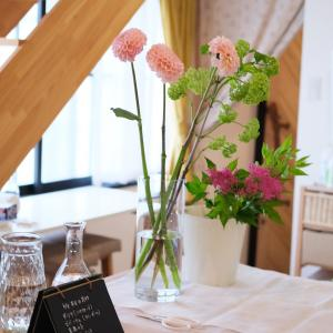 レッスンレポ~キマッタ!その瞬間の嬉しさ♡暮らしの花活けコース