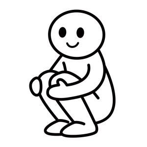 しゃがめない原因とストレッチを紹介!原因は膝?足首?腰?
